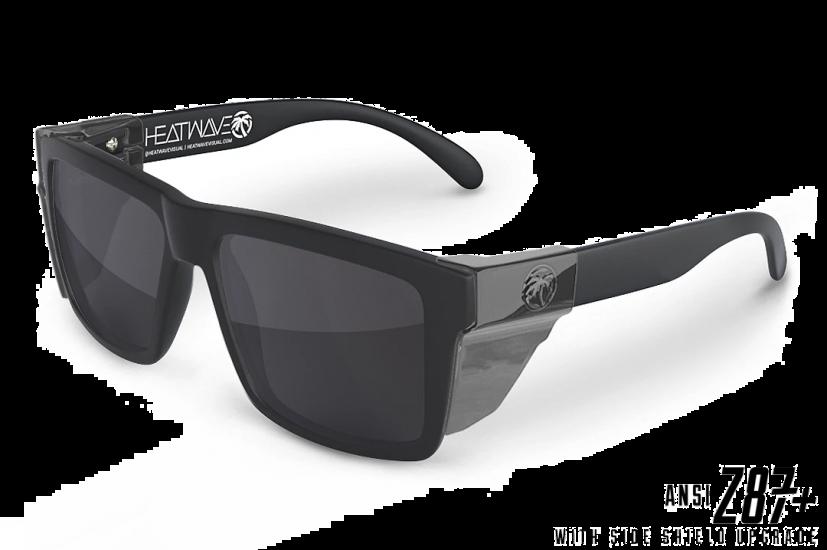 Heat Wave Vise Z87 Matte Black w/ Side Shields